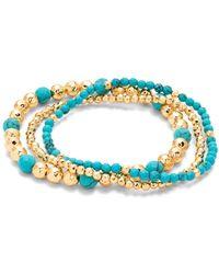 Gorjana - Gypset Beaded Stretch Bracelets - Lyst