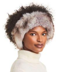 Surell Fox Faux Fur Headband - Multicolour