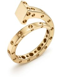 Roberto Coin - 18k Yellow Gold Pois Moi Chiodo Ring - Lyst