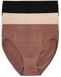 Wacoal B.smooth High - Cut Briefs - Multicolor