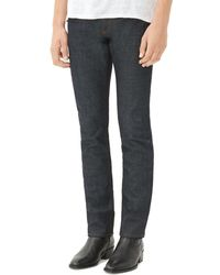 Sandro - Jea Pixies Straight Fit Jeans In Raw Denim - Lyst