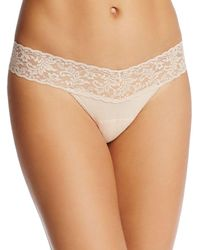 Hanky Panky - Petite Cotton With A Conscience Low-rise Thong - Lyst