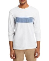 Faherty Brand - Surf Striped Long Sleeve Tee - Lyst