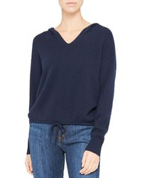 Theory - Cashmere Hoodie - Lyst