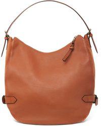 Hobbs Cleveland Leather Shoulder Bag - Brown