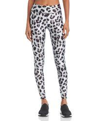 Terez - Leopard Print Leggings - Lyst
