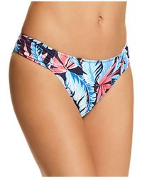 Tommy Bahama - Palms Reversible Shirred Side Bikini Bottom - Lyst