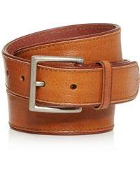 Frye - Men's Jones Leather Belt - Lyst