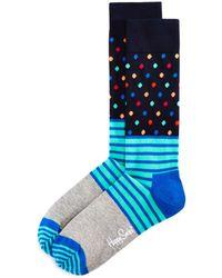Happy Socks - Stripes And Dots Socks - Lyst