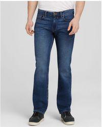 PAIGE | Jeans - Normandie Straight Fit In Birch Medium | Lyst