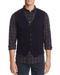 Bloomingdale's Merino Wool Vest - Blue