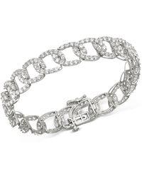 Bloomingdale's Diamond Statement Bracelet In 14k White Gold