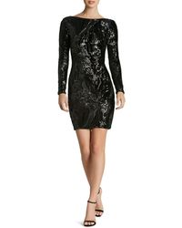 Dress the Population - Lola Sequin Dress - Lyst