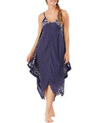 Tommy Bahama Island Scarves Printed Dress - Blue