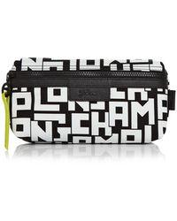 Longchamp Le Pliage Lgp Large Cosmetics Case - Black