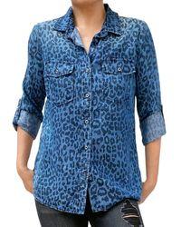 Billy T Lightweight Classic Button Down Shirt - Blue