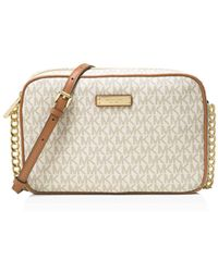 b618d6033111 Michael michael kors Sloan Small Quilted Crossbody in Pink