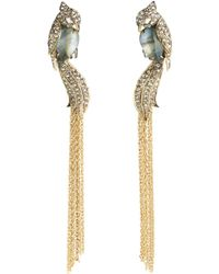 Alexis Bittar - Love Birds Tassel Drop Earrings - Lyst