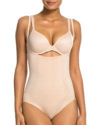 Spanx Oncore Open - Bust Panty Bodysuit - Natural