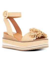 Andre Assous Women's Carlee Wedge Sandals - Natural