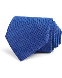 John Varvatos | Textured Solid Classic Tie | Lyst