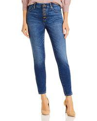 Jag Jeans Valentina Pull On Skinny Jeans - Blue
