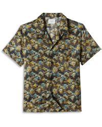 Billy Reid Neighborhood Camp Shirt - Multicolour