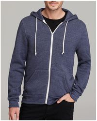 Alternative Apparel | Rocky Zip Hoodie | Lyst