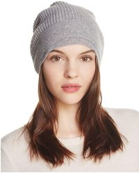 Vince - Thermal Wool & Cashmere Beanie - Lyst