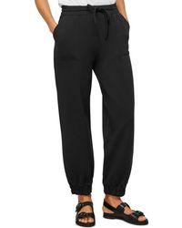 Whistles Premium Lounge Jogger Trousers - Black