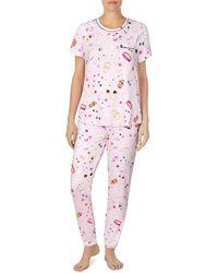 Kate Spade Printed Pyjamas Set - Pink