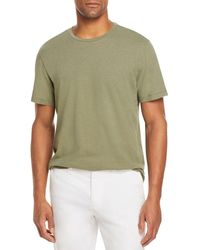 Bloomingdale's The Store At Bloomingdale's Linen Cotton Tee - Green