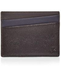 WANT Les Essentiels Bransons Colour Block Leather Card Case - Black