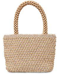 Loeffler Randall Mina Beaded Mini Top Handle Bag - Multicolor