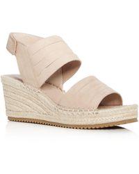 Eileen Fisher - Women's Largo Espadrille Platform Wedge Sandals - Lyst