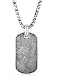 David Yurman - Meteorite Tag - Lyst