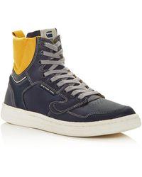 G-Star RAW G - Star Raw Men's Mimemis High - Top Sneakers - Blue
