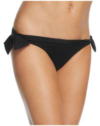 Norma Kamali - Eric Side Tie Bikini Bottom - Lyst