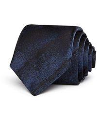 John Varvatos Tonal Stripe Classic Tie - Blue