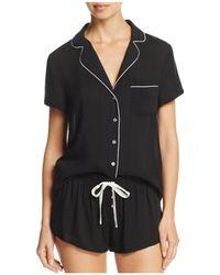 Splendid | Intimates Piped Short Pajama Set | Lyst