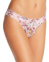 Hanky Panky - Floral Brazilian Bikini - Lyst