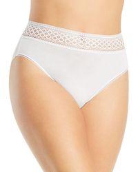 Wacoal Subtle Beauty High - Cut Brief - White