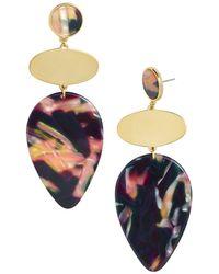 BaubleBar - Fareena Iridescent Drop Earrings - Lyst