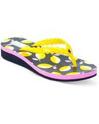 Kate Spade Women's Malta Flip Flop Sandals - Yellow
