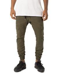 Zanerobe Sureshot Cargo Jogger Pants - Green