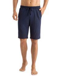 Hanro Casual Drawstring Shorts - Blue
