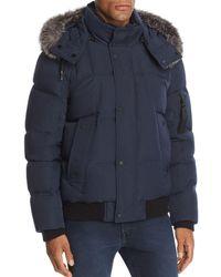 Andrew Marc - Bennett Fox Fur-trimmed Puffer Jacket - Lyst