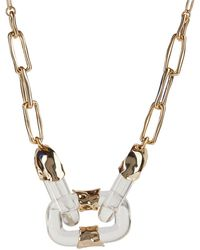 Alexis Bittar - Future Antiquity Crumpled Metal Soft Link Necklace - Lyst