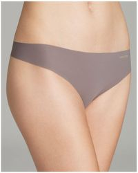 CALVIN KLEIN 205W39NYC - Invisibles Thong - Lyst