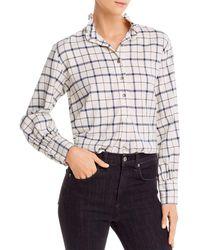Rebecca Taylor La Vie Brushed Plaid Shirt - Multicolour